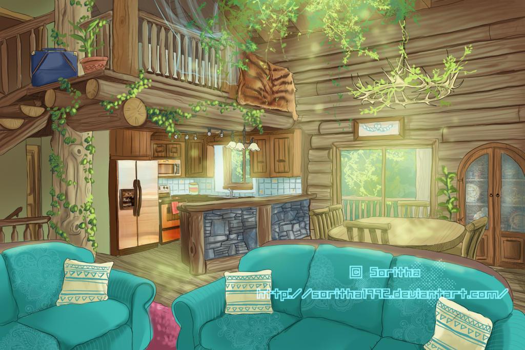 Actividad 01 la casa de chizuru by sparkly monster on for Arboles para interior casa
