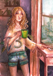 Morning Coffee 2 by TEAofeyes