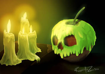 Poison apple [Draw from memory challenge]
