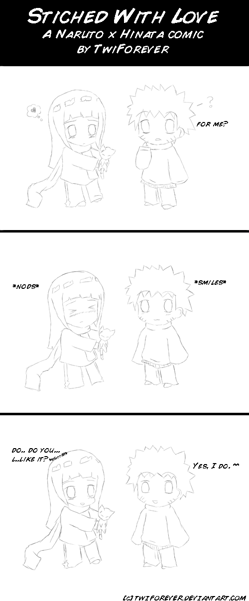 NaruHina - Stitched With Love by TwiForever