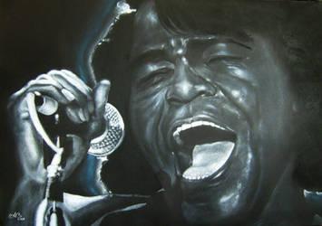 James Brown by MrBrowne