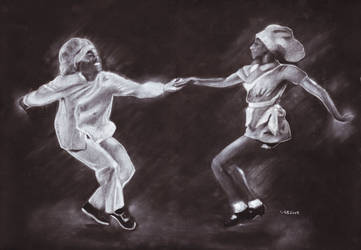 Lindy Hop by MrBrowne