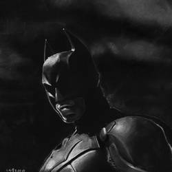 The Dark Knight by MrBrowne