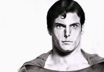 Christopher Reeve by MrBrowne