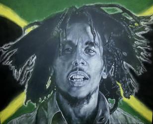 Bob Marley by MrBrowne