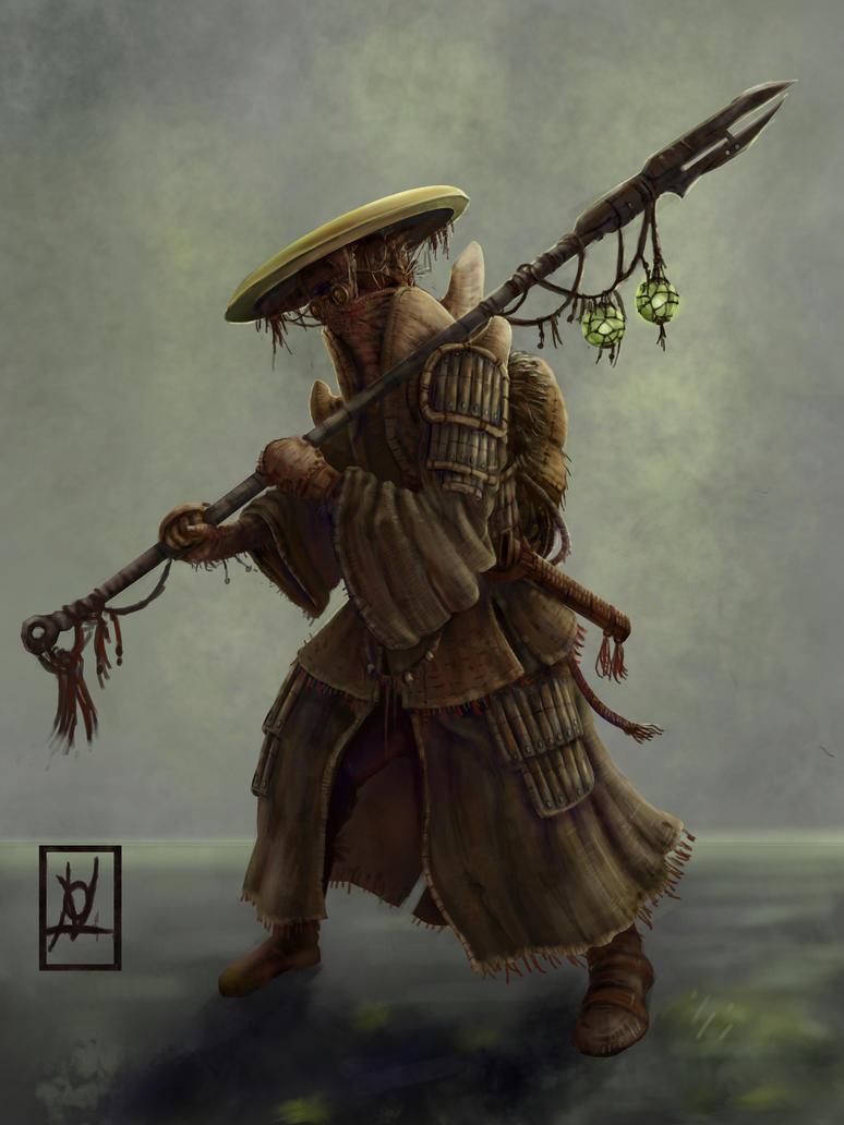 Shaman of deltan by skarrh