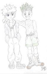 Killua and Gon-friends forever