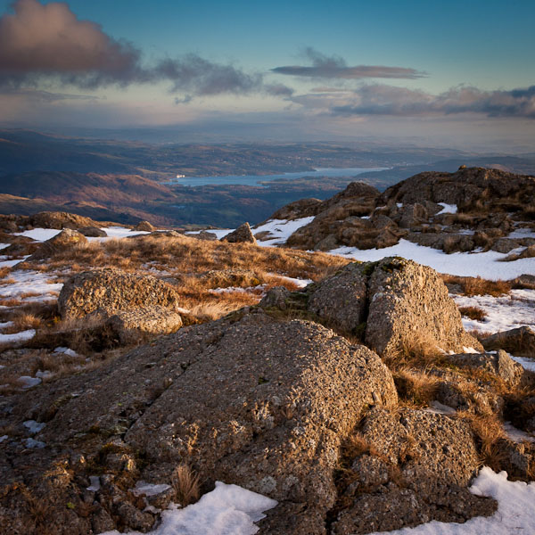 View from Pavey Ark by cardinal