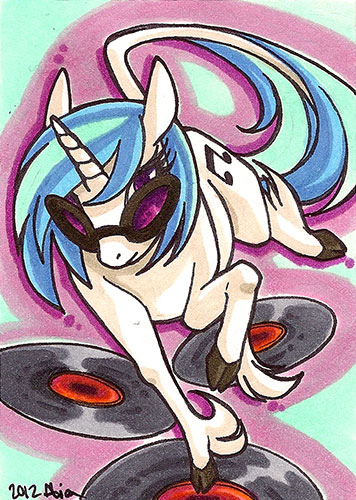 vinyl scratch by alienfirst