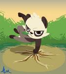 badass panda