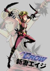 EIJI x CROW XD by andy5281