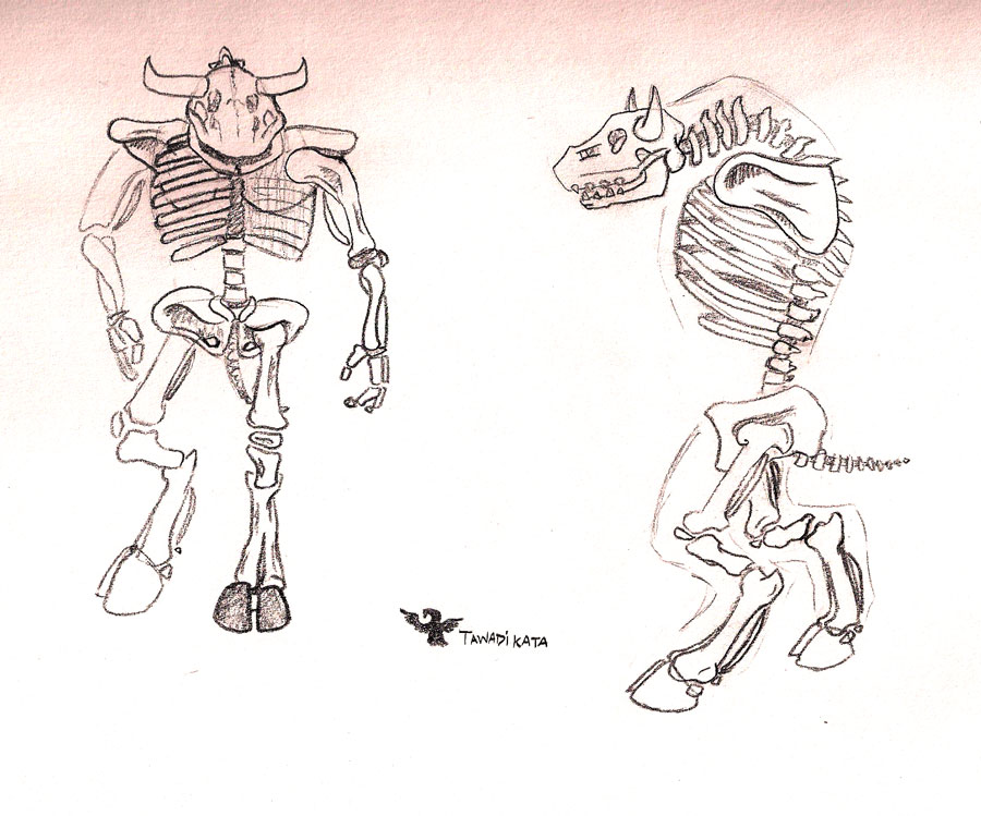 A Tauren skeleton (with links to pics) - World of Warcraft Forums