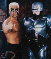 Sting and Robocop by UltimateGris