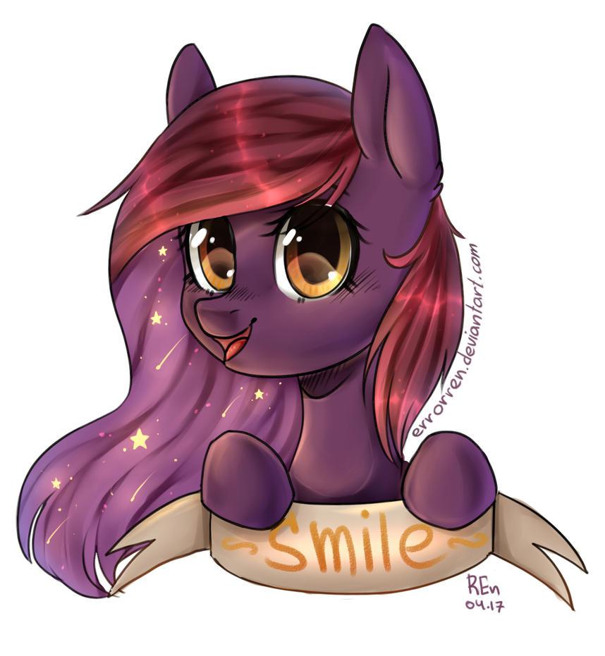 smile pony by ErrorREn