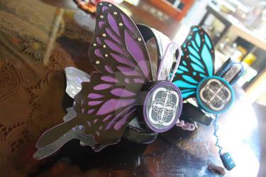 Kaito and Gakupo Magnet Headphones