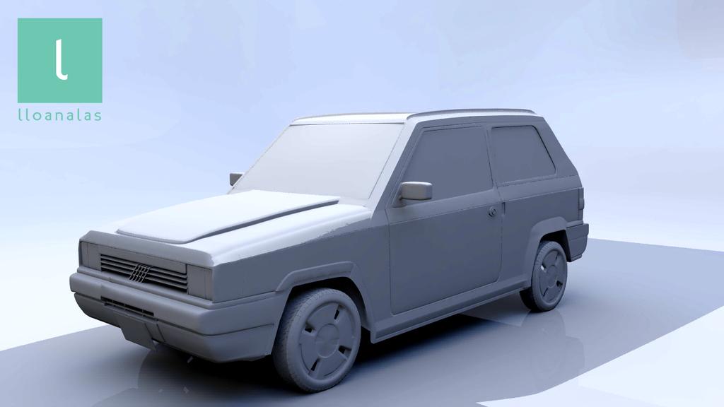 lloan alas 3D carModel 01 by Lloan