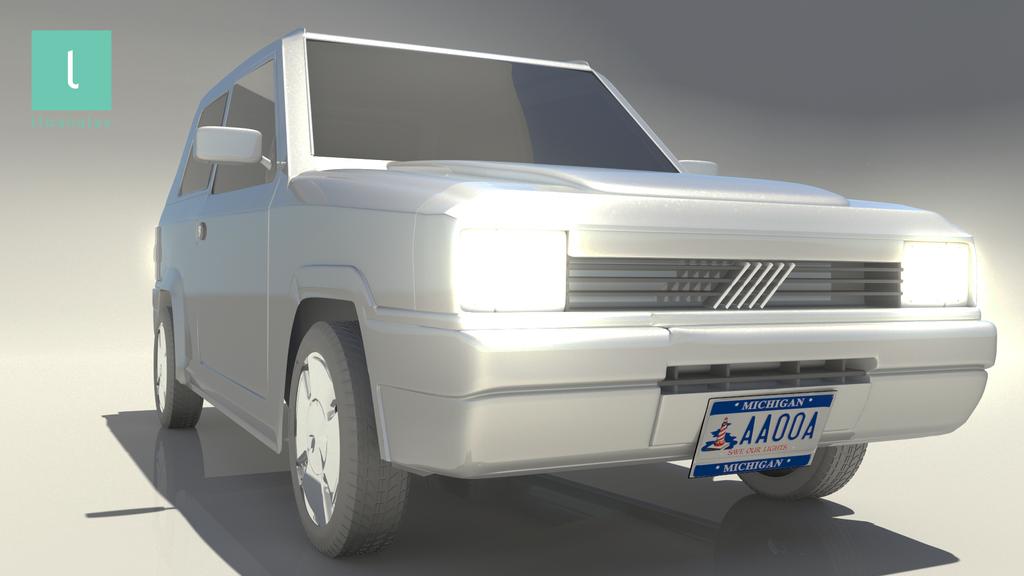 lloan alas 3D carModel 03 by Lloan