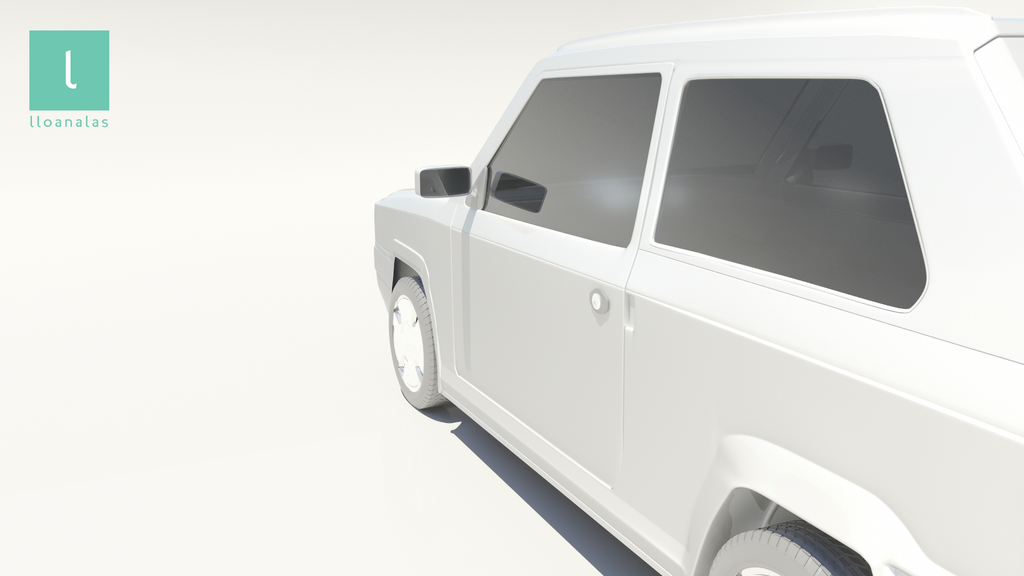 lloan alas 3D carModel 04 by Lloan