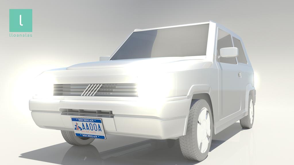 lloan alas 3D carModel 05 by Lloan