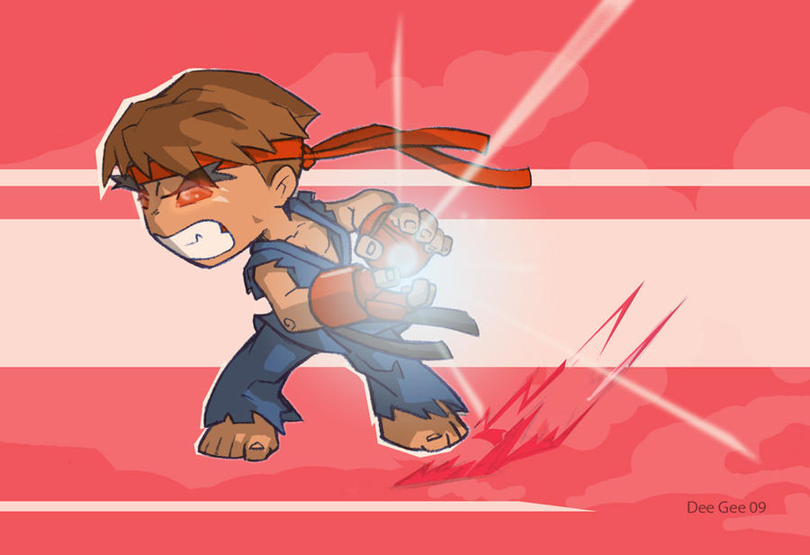 evil ryu wallpaper. Evil Ryu by ~D-Gee on deviantART