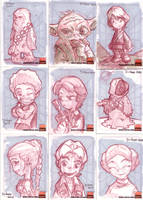 Star Wars Cards 1 by D-Gee