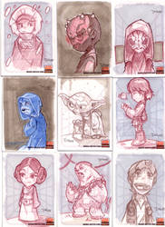Star Wars Cards 5 by D-Gee