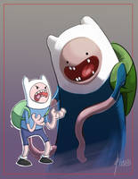 Adventure Time!!!! by D-Gee