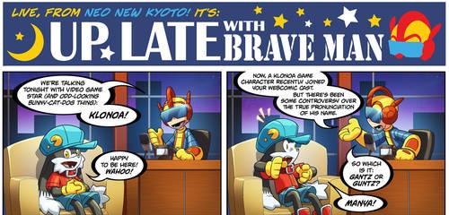 Bravoman Webcomic!