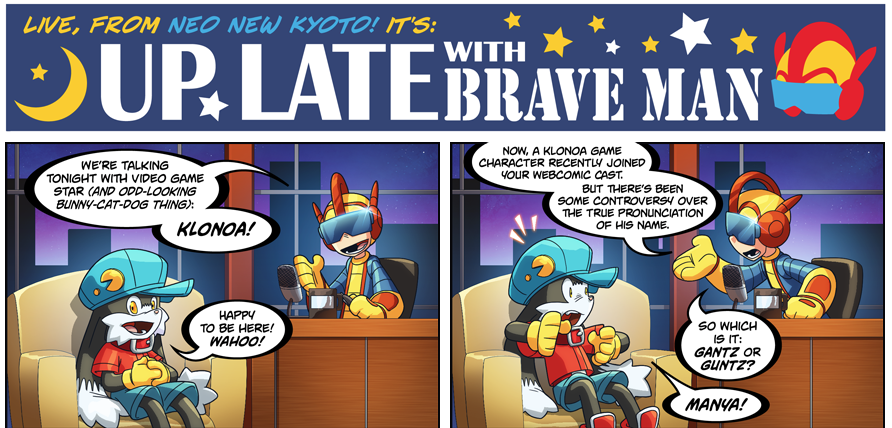 Bravoman Webcomic! by D-Gee