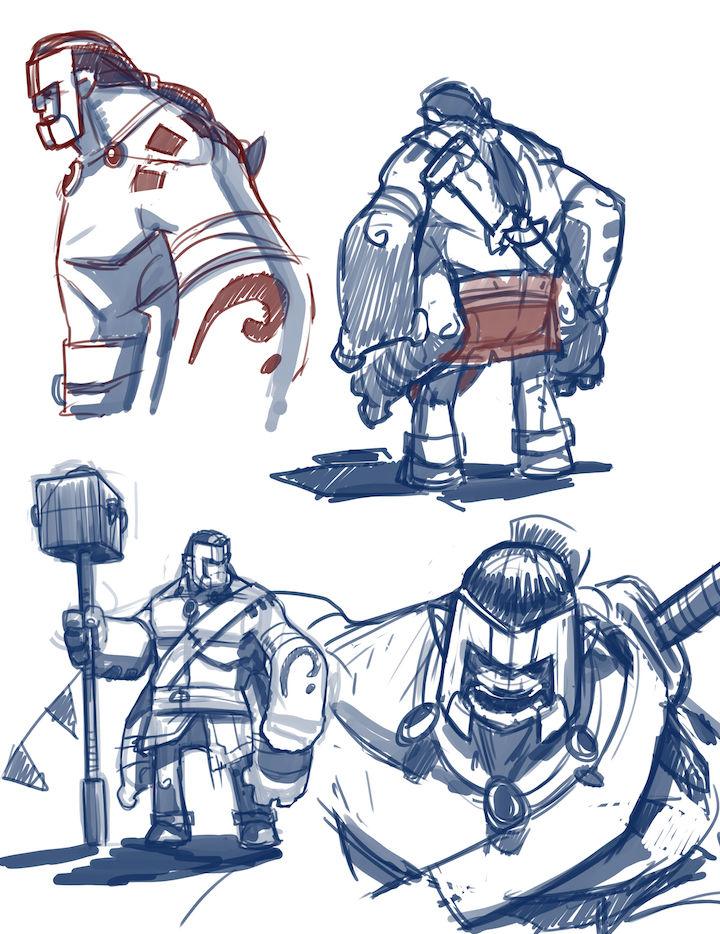 Avian Odyssey - Kylor Character designs
