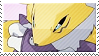 Renamon Stamp by Sakulei