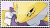 Renamon Stamp by Sakulei