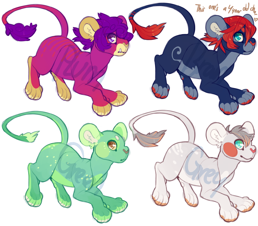 Lion Adopts {$7-$10} by Swag-Master-General