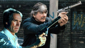 Clint Eastwood and Charles Bronson (Battle for SF)