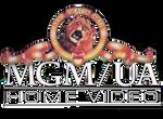MGM UA Home Video logo (WHITE TEXT)