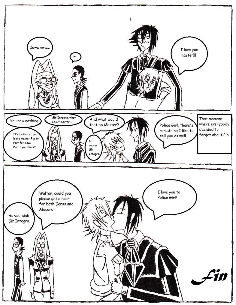 Hellsing Seras And Alucard Kiss | www.imgkid.com - The ...