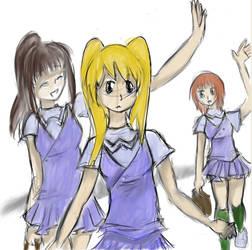 manga school girls
