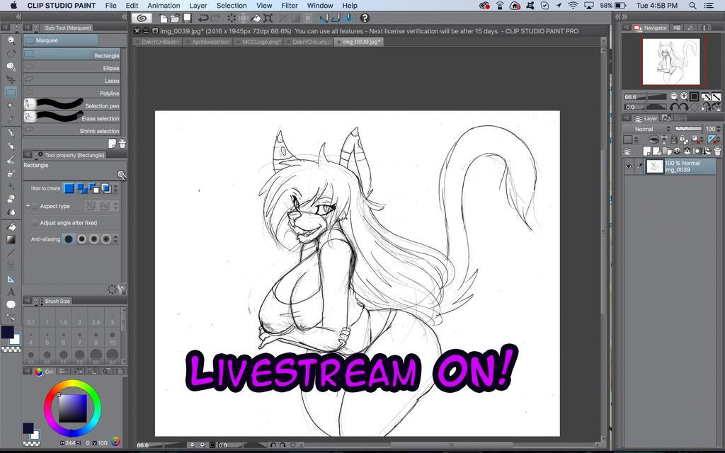 Livestream ON! by MidoriCChann