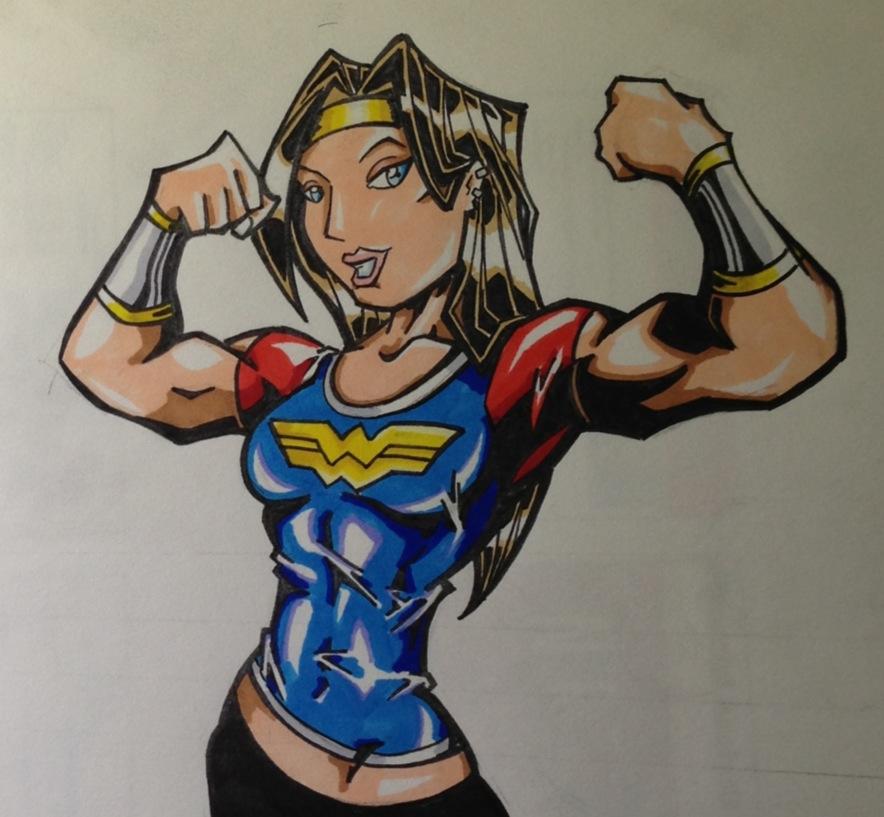 Strong girls comics deviantart