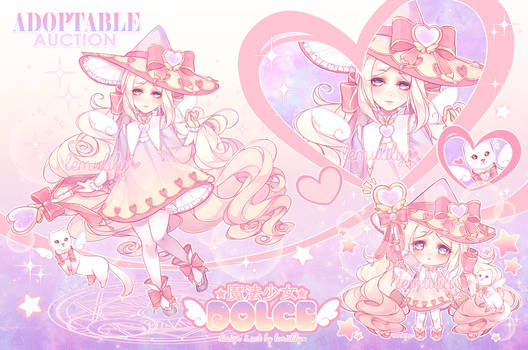 Adoptable Auction: Magical Girl DOLCE (CLOSED)