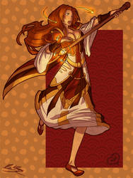 WoW Crossover: Orihime by raevene