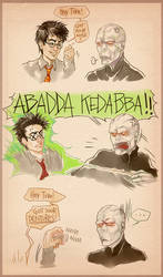 Harry Potter 7 Real Ending by DocWendigo