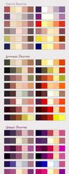 Seasons color PALETTES by DocWendigo