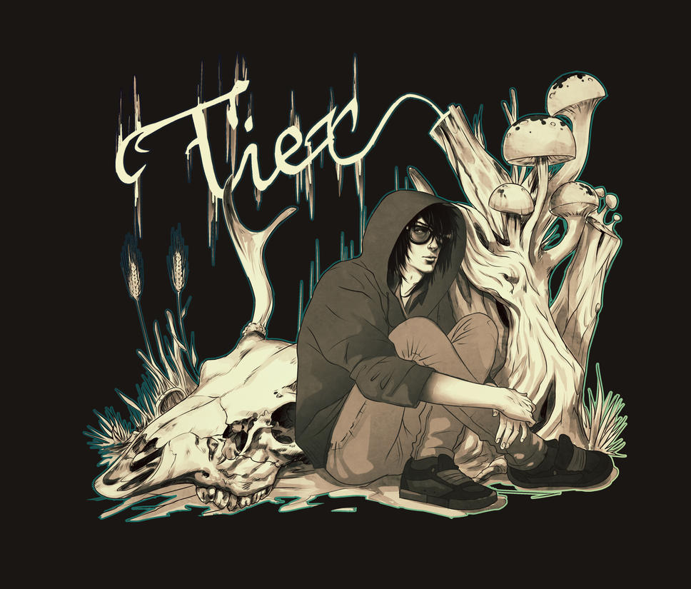 Tier - T-shirt design by ElephantWendigo