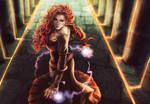 Empress Of Nightmares Splash by DocWendigo