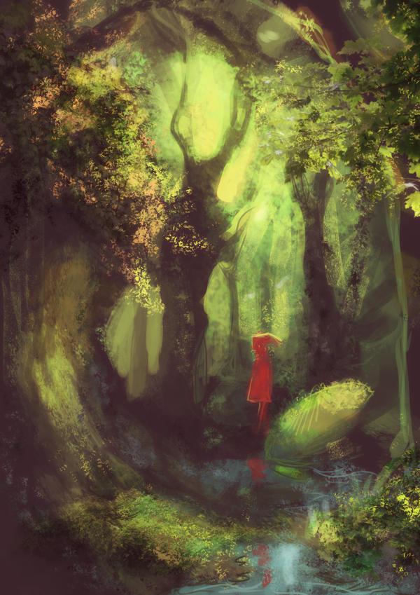 Enchanted forest by SirWendigo