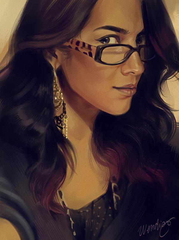 Rez Portrait by SirWendigo