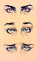 Realism Eyes - Expression study