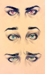 Realism Eyes - Expression study by DocWendigo