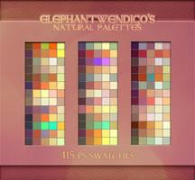 ElephantWendigo's Natural Palette - PS Swatches by DocWendigo